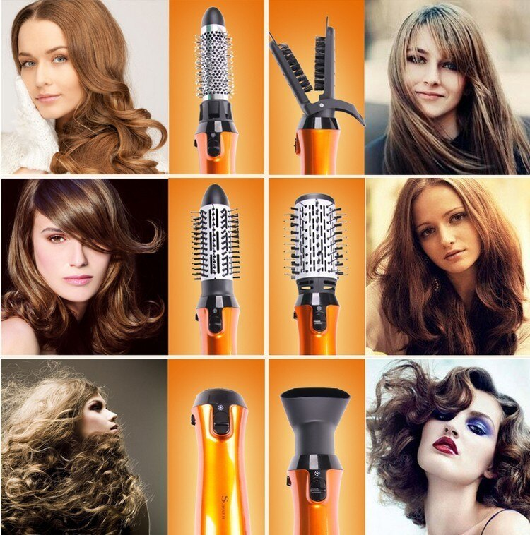 Women's Professional Hair Dryer with Combs