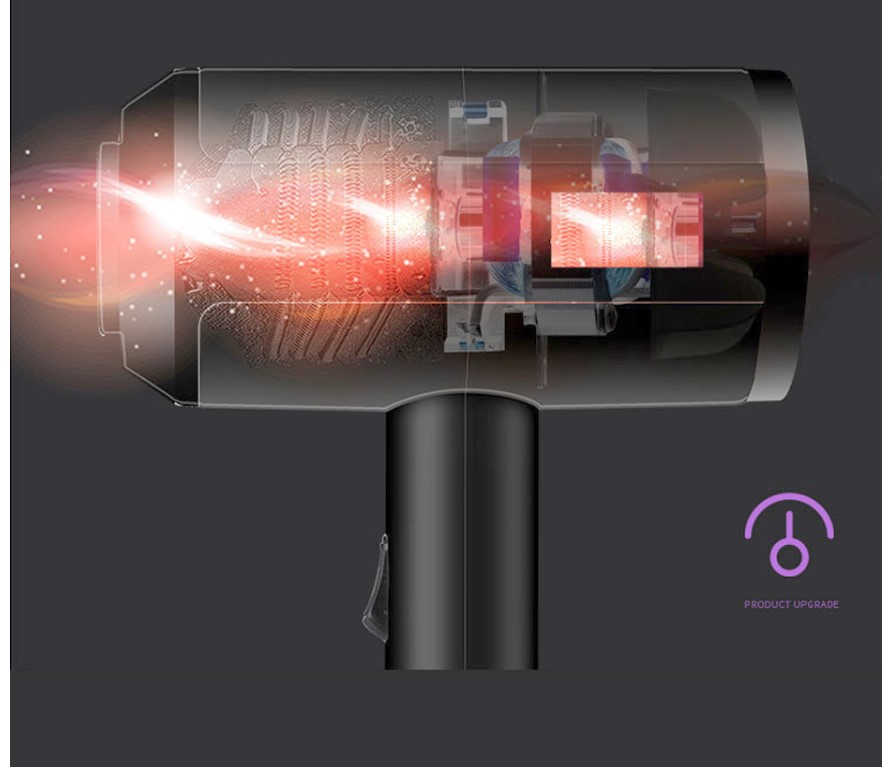 2200W Professional Portable Hair Dryer